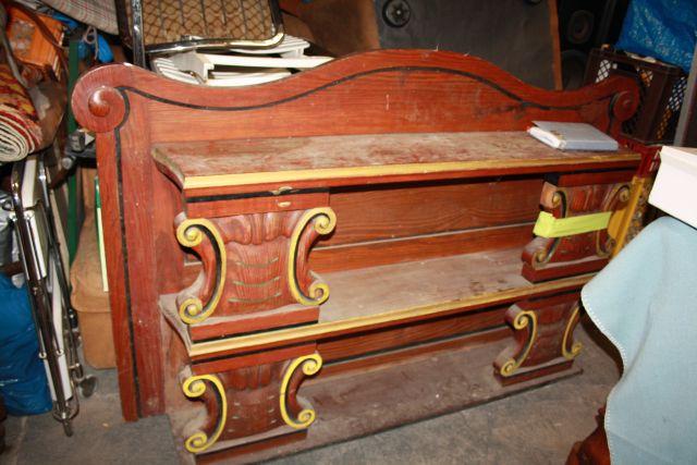 altes fl misches regal schnitzerei aufsatzregal k ln ebay. Black Bedroom Furniture Sets. Home Design Ideas